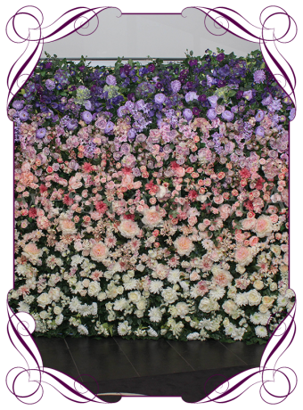 hombre flower wall