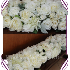 silk wedding flowers Melbourne, silk wedding flower hire,