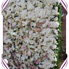 Melbourne Flower wall for hire in ivory and romantic pastel tones