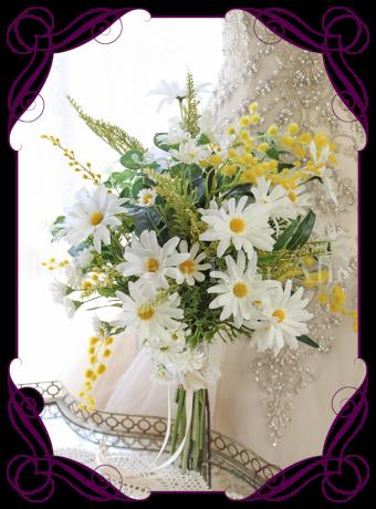 Daisy-elegant-silk-artificial-bridal-bouquet-daisies-wattle-boho-rustic-meadow