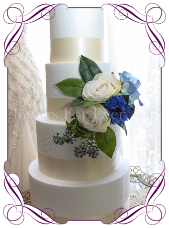 fake wedding cake hire melbourne flowers for after artificial wedding flower designs 14119